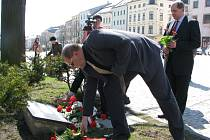 Uctění památky Evžena Plocka, v sobotu uplyne čtyřicet let od jeho upálení