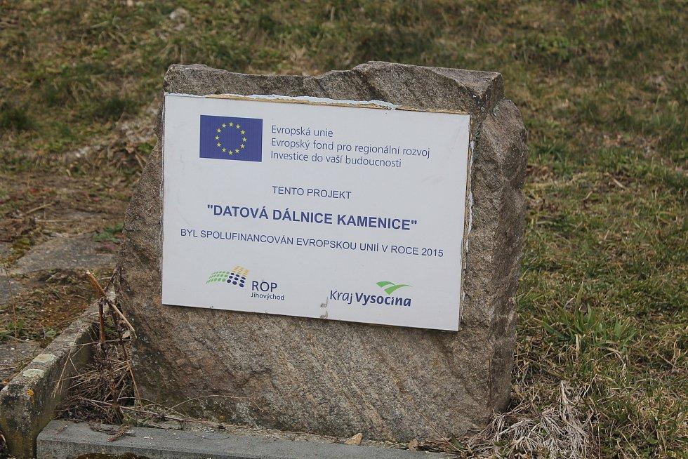 Datová dálnice je velký projekt realizovaný v Kamenici.