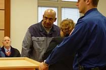 František Šivák alias Mamba byl osmiletým trestem zaskočen. Rozsudek ale zatím není pravomocný, protože se na místě odvolal.