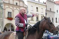 Historické slavnosti na telčském náměstí Zachariáše z Hradce.