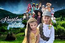 Pohádka, kde hrají děti ze Sedlejova i z Telče.