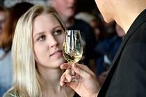 Festival vína v jihlavském domě kultury.