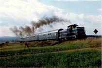 Mezi roky 1991 a 2009 se vlaky mezi Polnou a Dobronín vracely alespoň v době Mrkvancové pouti. V různých letech je zachycuje archiv Richarda Cily.