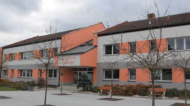 Zdravotní středisko v Lukách nad Jihlavou.