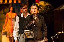 Premiéru v Horáckém divadle měly letos v sobotu 12. září. Na snímku je Martin Dobíšek v roli Ferdy Čupra a vpravo Lenka Schreiberová coby slečna Eulalie Čubíková.HDJ/archiv