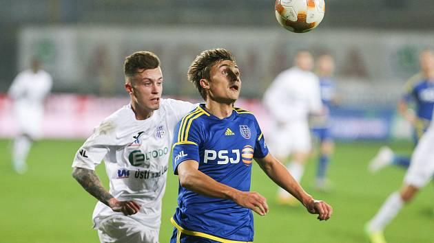 FC Vysočina Jihlava - FK Ústí nad Labem, ilustrační foto.