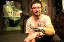 Tiskový mluvčí jihlavské zoologické zahrady Martin Maláč