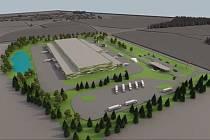 Plánované logistické centrum lidé ve Velkém Beranově odmítli.