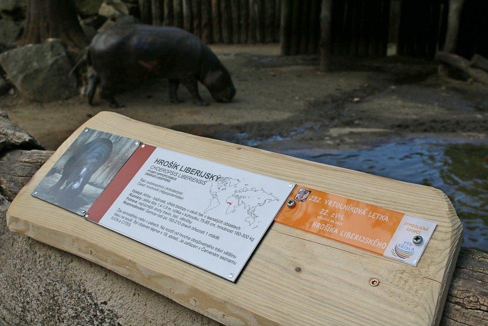 Vrtulníkáři z Náměště adoptovali zvířata ze Zoo Jihlava.
