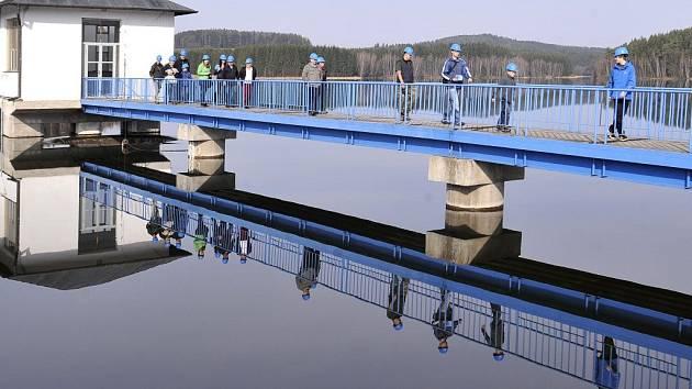 Vodní nádrž Hubenov.