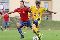 """Remíza byla máto. Jihlavská """"sedmnáctka"""" byla ve Vítkovicích lepší než domácí výběr, jenže gólů dala stejně, takže body se po remíze 2:2 dělily."""
