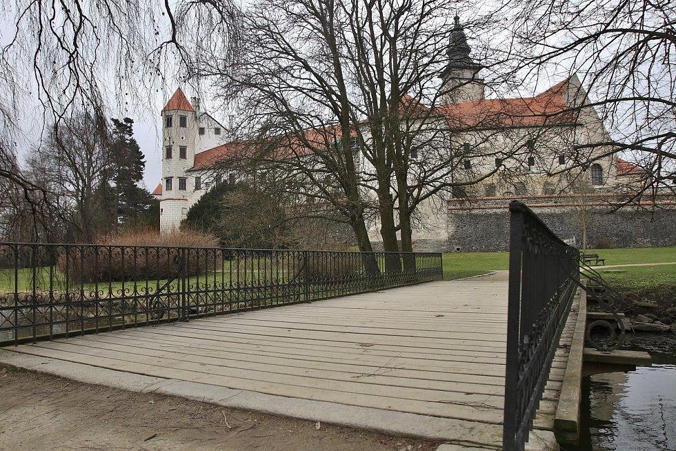 Státní zámek Telč.