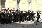 K happeningu Pamatuj! se letos připojila i Třešť.