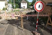 Hlavní silnice ve směru z Jihlavy na Třebíč je pro veškerou dopravu uzavřená