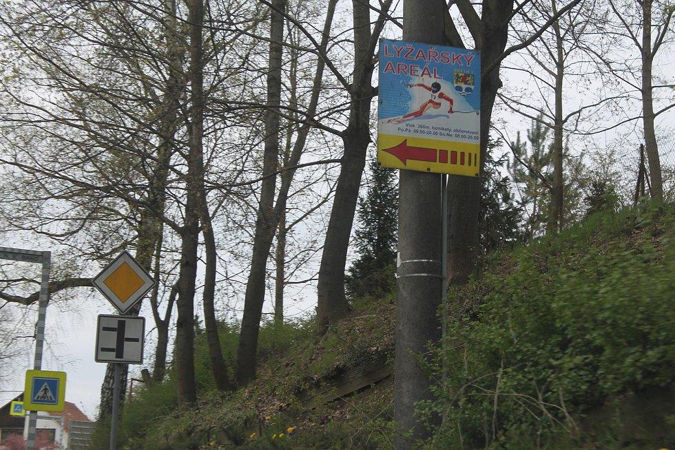 V Brtnici je i sjezdovka, poslední zimu ale byla mimo provoz.