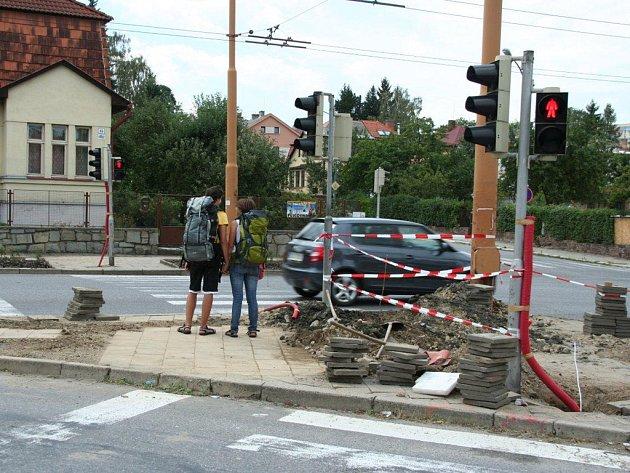 Úprava křižovatky u autobusového nádraží v Jihlavě by se měla obejít bez uzavírek.