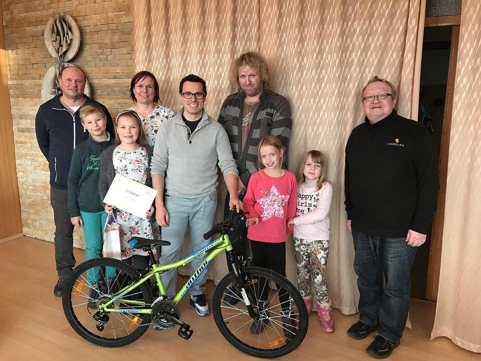 Rodina z Telče pomohla rodině ze Stonařova. Foto: archiv Tomáše Slavaty