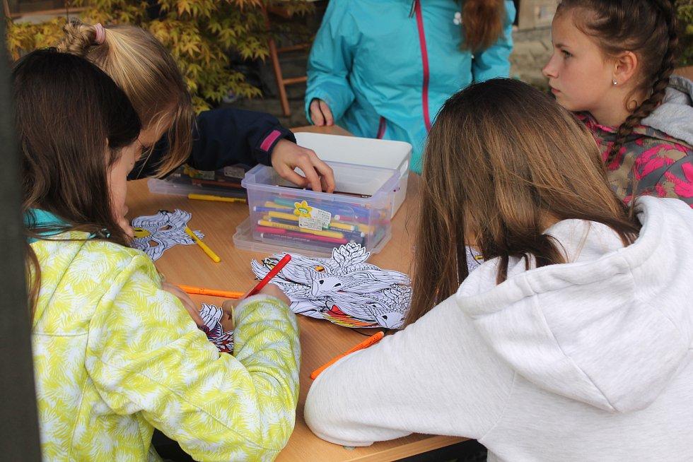 V ZOO Jihlava byly pro děti připraveny nejrůznější aktivity.