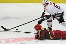 Jihlavští hokejisté v Chomutově padli, domácí Piráti je rozebrali v přesilových hrách.