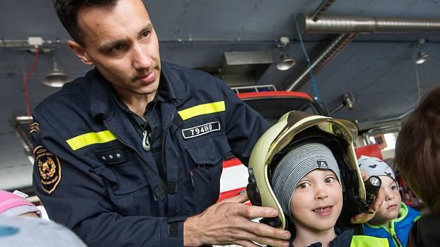 Den otevřených dveří v hasičské stanici Jihlava.