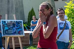 Vernisáž výstavy Kola pro Afriku a vyhlášení soutěže Do práce na kole v Jihlavě.