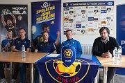 Vedení prvoligového týmu FC Vysočina Jihlava představilo 13. února na tiskové konferenci před novinky v týmu, posily a plán.
