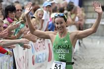 Radka Vodičková se takhle radovala z vítězství v loňském ročníku.
