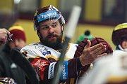 Utkání 5. kola skupiny o umístění v hokejové extralize: HC Dukla Jihlava - BK Mladá Boleslav.