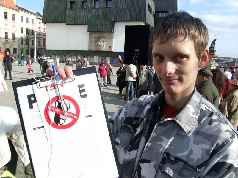 Takto vypadaly petiční archy.