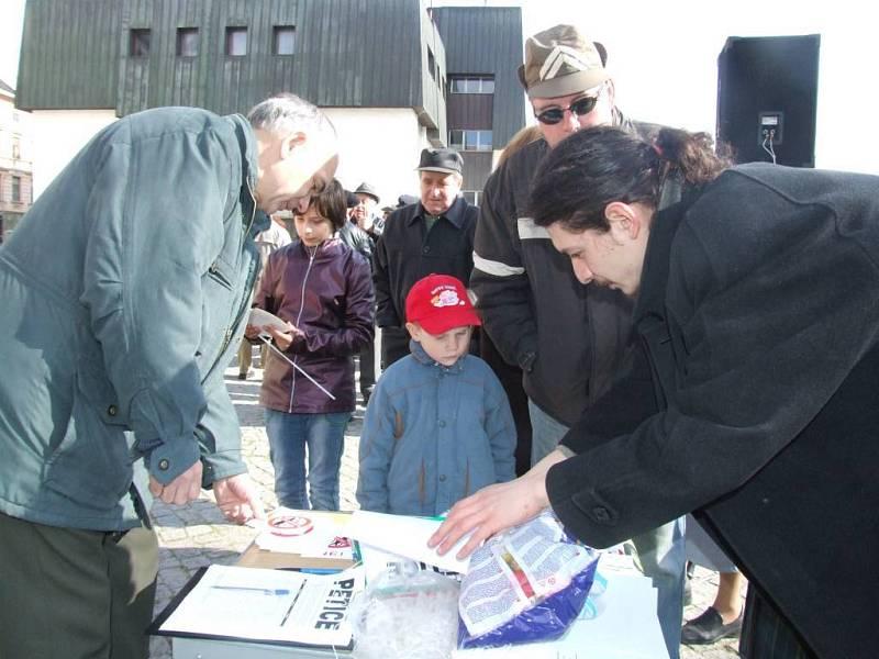 Podepisování petice