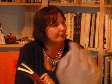 Autorské čtení diváky zaujalo. Na spisovatelku Veroniku Válkovou se hrnuly dotazy ze všech stran.