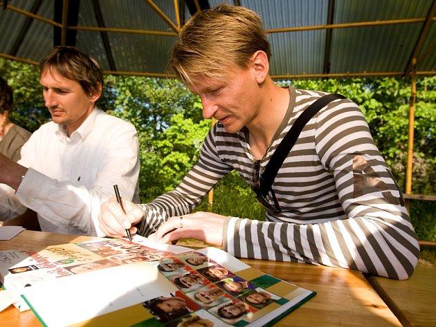 Zatímco Martin Vaniak (na snímku vlevo) už s kariérou skončil, Marek Heinz stále ještě pomýšlí na starty v profesionálních soutěžích. Angažmá v Jihlavě by se mu moc líbilo.