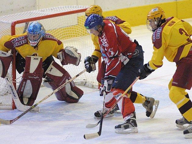 Gólman jihlavských juniorů Vratislav Vajner musel být proti Pardubicím stále ve střehu, ovšem prohře 3:7 nezabránil. Dukla nakonec prohrála i s Hradcem Králové.