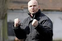 Trenér Milan Volf.