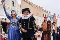 Historické slavnosti v Telči.
