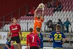 Utkání 11. kola FNL mezi FC Vysočina Jihlava a MFK Chrudim.
