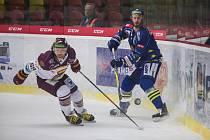 Utkání 46. kola Chance ligy mezi HC Dukla Jihlava a HC ZUBR Přerov.
