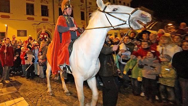 Svatý Martin v Jihlavě na Masarykově náměstí