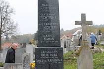 Hrob lékaře Františeka Richtera v Třešti