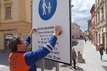 Jihlava povolila cyklistům vjezd do pěších zón.