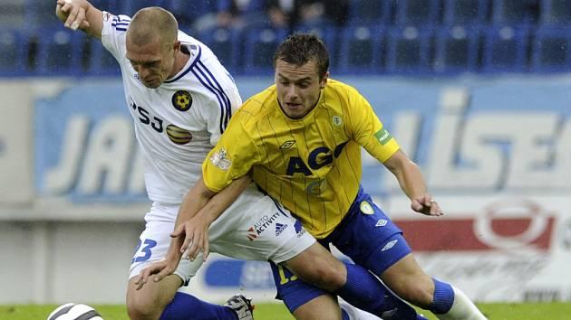 Jihlavští fotbalisté zkusili odehrát v Teplicích otevřenou partii, soupeř je ale trestal z rychlých brejků.