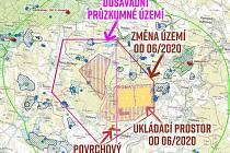 Lokalita Hrádek - nový polygon.