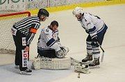 Hokejisté Jihlavy porazili v rozhodujícím sedmém zápase semifinále první ligy Kladno 1:0 a zajistili si postup do baráže o extraligu.