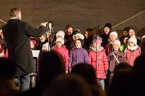 Po celém Česku se díky Deníku zpívaly 13. prosince koledy. Jinak tomu nebylo ani v Jihlavě.