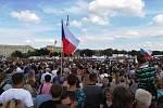 Na Letnou dorazili také lidé z Jihlavska.