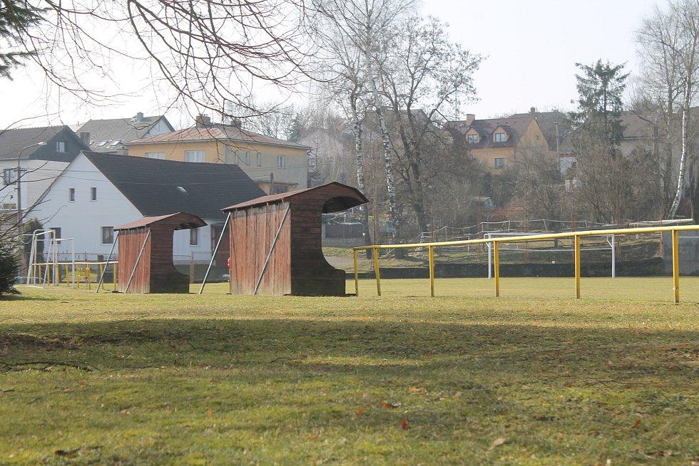 Fotbalové hřiště znají všichni místní sportovní fanoušci.