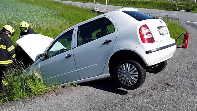 Nehoda u Valče.