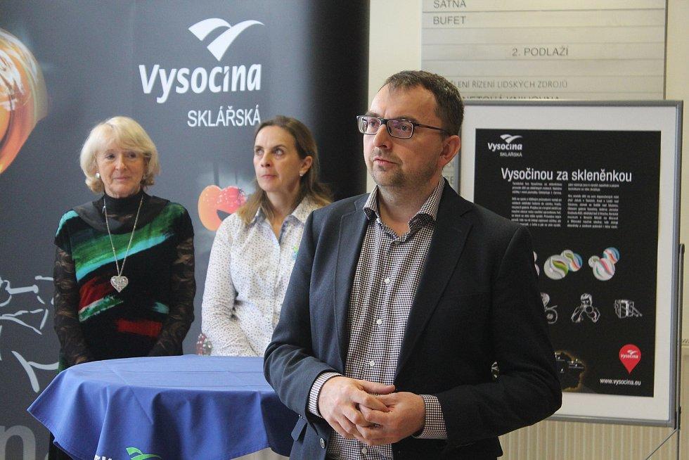 Ředitel Vysočina  Tourism Tomáš Čihák hovořil o letošních akcích pro turisty.