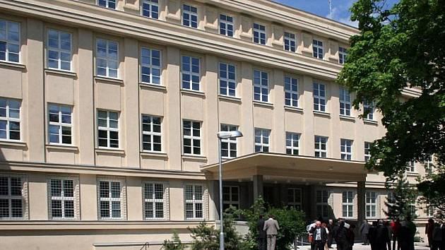 Budova okresního soudu v Jihlavě.