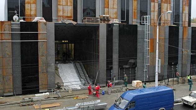 Stavba Cityparku se blíží ke konci